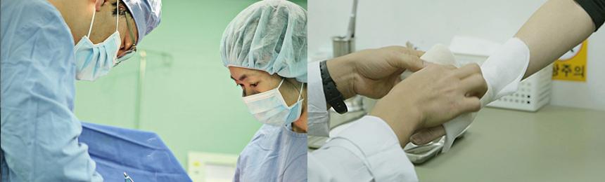베스티안 회의 및 수술사진